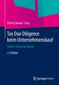 Tax Due Diligence beim Unternehmenskauf
