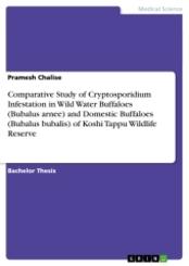 Comparative Study of Cryptosporidium Infestation  in Wild Water Buffaloes (Bubalus arnee) and  Domestic Buffaloes (Bubal