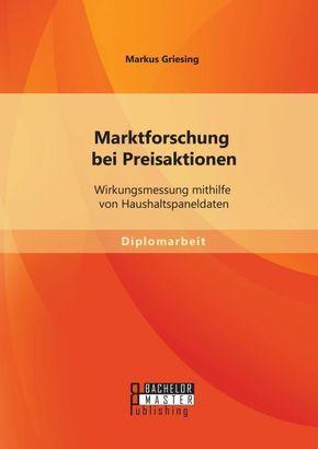 Marktforschung bei Preisaktionen: Wirkungsmessung mithilfe von Haushaltspaneldaten