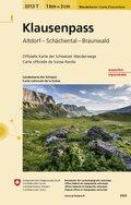 Landeskarte der Schweiz Klausenpass