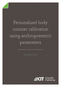 Personalised body counter calibration using anthropometric parameters