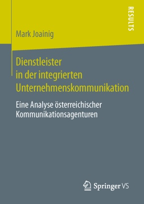 Dienstleister in der integrierten Unternehmenskommunikation