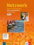 Netzwerk: Kurs- und Arbeitsbuch, m. 2 Audio-CDs u. 1 DVD; Bd.B1.2