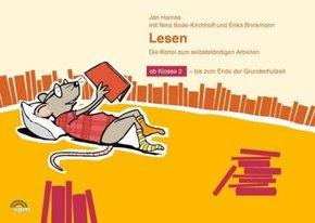 ABC-Lernlandschaft 2+: Lesen - Die Kartei zum selbstständigen Arbeiten