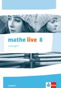 mathe live, Ausgabe N: 8. Schuljahr, Lösungen