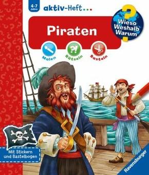 Piraten - Wieso? Weshalb? Warum? aktiv-Heft