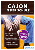 Cajon in der Schule, m. Audio-CD und DVD