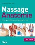 Massage-Anatomie, m. Poster