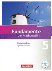 Fundamente der Mathematik, Gymnasium Niedersachsen G9: 5. Schuljahr, Schülerbuch