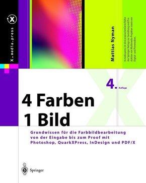 4 Farben - ein Bild