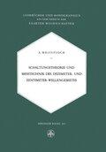 Schaltungstheorie und Messtechnik des Dezimeter- und Zentimeterwellengebietes