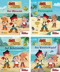 Disney Jake und die Nimmerland Piraten, Verkaufskassette - Nr.1-4 (24 Expl. (4 Titel))