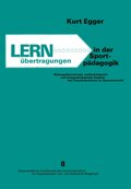 Lernübertragungen in der Sportpädagogik