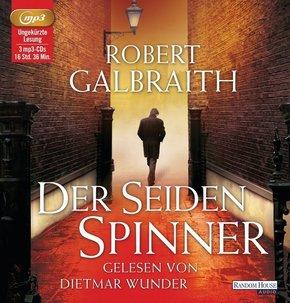 Der Seidenspinner, 3 MP3-CDs