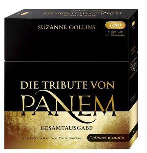 Die Tribute von Panem, Gesamtausgabe, 6 MP3-CDs
