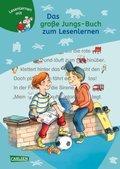 Das große Jungs-Buch zum Lesenlernen