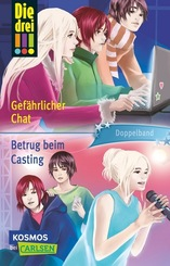 Die drei !!!, Gefährlicher Chat / Betrug beim Casting