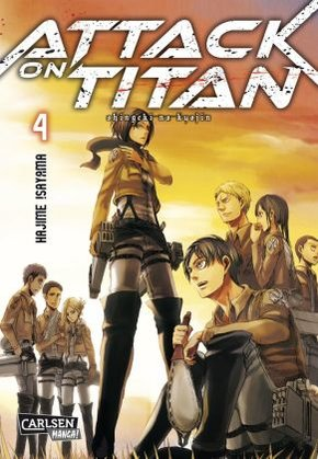 Attack on Titan - Bd.4