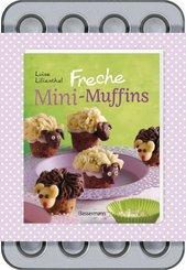 Freche Mini-Muffins (Buch + Backblech)
