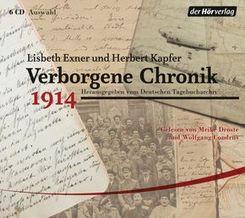 Verborgene Chronik 1914, 6 Audio-CDs