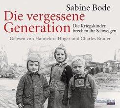 Die vergessene Generation, 4 Audio-CDs