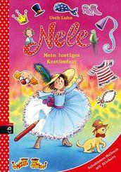Nele - Mein lustiges Kostümfest Schablonen-Malbuch mit Stickern