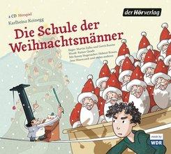 Die Schule der Weihnachtsmänner, 2 Audio-CDs