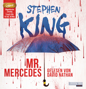 Mr. Mercedes, 3 MP3-CDs