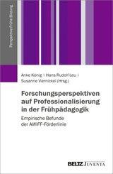 Forschungsperspektiven auf Professionalisierung in der Frühpädagogik