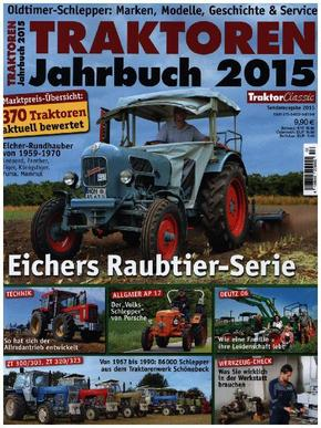 Traktoren Jahrbuch 2015