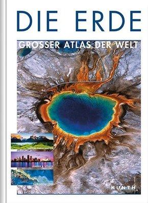 Die Erde - Großer Atlas der Welt