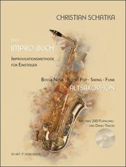 Das Impro-Buch, für Altsaxophon, m. Audio-CD