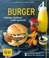 Burger - Hamburger Lieblings-Fastfood selbst gemacht.