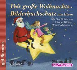 Der große Weihnachts-Bilderbuchschatz zum Hören, Audio-CD
