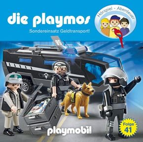 Die Playmos - Sondereinsatz Geldtransport!, 1 Audio-CD