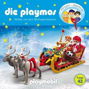 Die Playmos - Wirbel um den Weihnachtsmann, 1 Audio-CD