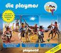 Die Playmos - Die große Cowboy- und Indianerbox (3 Audio-CDs)