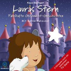 Lauras Stern - Fabelhafte Gutenacht-Geschichten, Audio-CD