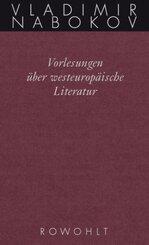 Vorlesungen über westeuropäische Literatur