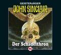 John Sinclair - Der Schädelthron, 1 Audio-CD