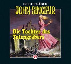 John Sinclair - Die Tochter des Totengräbers, 1 Audio-CD