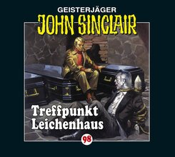 John Sinclair - Treffpunkt Leichenhaus, 1 Audio-CD - Tl.1