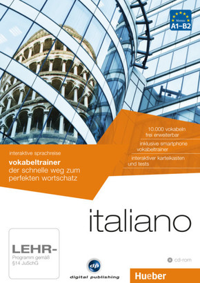 Italiano - Interaktive Sprachreise: Vokabeltrainer, CD-ROM