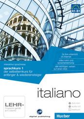 Italiano - Interaktive Sprachreise: Sprachkurs 1, DVD-ROM m. Audio-CD u. Textbuch