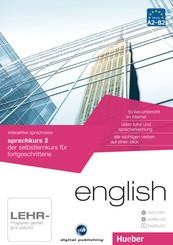 English - Interaktive Sprachreise: Sprachkurs 2, DVD-ROM m. Audio-CD u. Textbuch