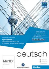 Deutsch - Interaktive Sprachreise: Sprachkurs 1, DVD-ROM m. Audio-CD u. Textbuch