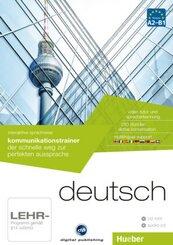 Deutsch - Interaktive Sprachreise: Kommunikationstrainer, CD-ROM + Audio-CD