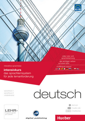 Deutsch - Interaktive Sprachreise: Intensivkurs, DVD-ROM m. 2 Audio-CDs u. 2 Textbücher
