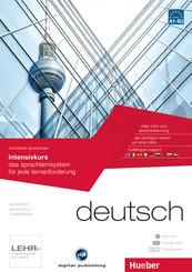 Deutsch - Interaktive Sprachreise: Intensivkurs, DVD-ROM m. 2 Audio-CDs u. 2 Textbücher