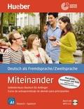 Miteinander - Selbstlernkurs Deutsch für Anfänger: Spanische Ausgabe, m. MP3-CD